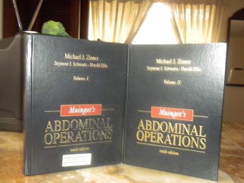 libros de operaciones abdominales