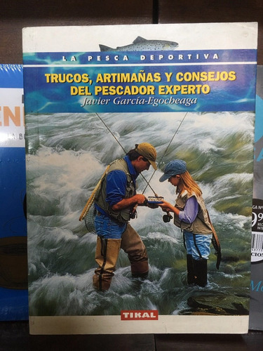 libros de pesca - editorial tikal - lote de 4 unidades