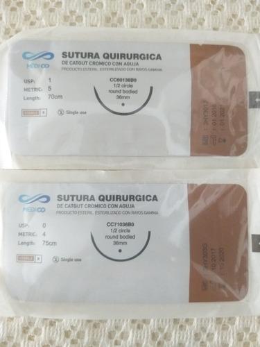 libros de prolene kromico vikryl y nylon 0 , 1, 2-0, 3-0 mas