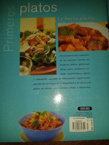 libros de recetas de cocina - primeros platos