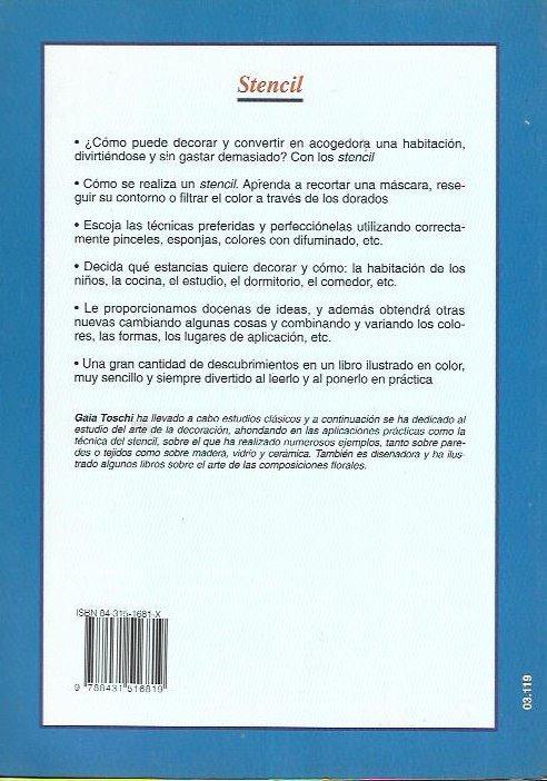 Libros & Decoración : Stencil ( Muebles ) Manual Práctico - $ 300,00 ...