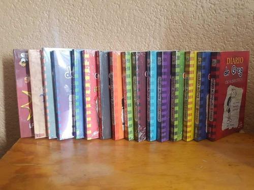 libros diario de greg paquete de 4 libros