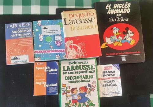 libros diccionarios set , cocina , manualidades y escolares.