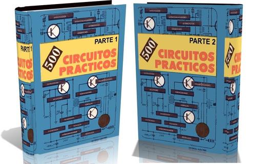 libros digitales - 500 circuitos prácticos 1 y 2 - pdf (dvd)
