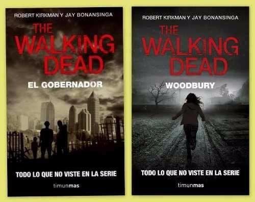 libros digitales - pack: the walking dead 4 libros pdf