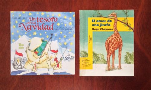 libros - el amor de una jirafa y un tesoro en la navidad