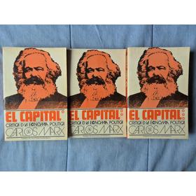 Libros El Capital Carlos Marx Crítica De La Economía Polític