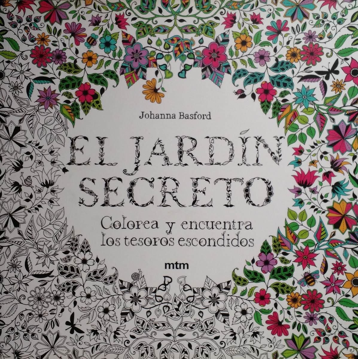 Libros El Jardin Secreto Johanna Basford Zbierac 229 99 En