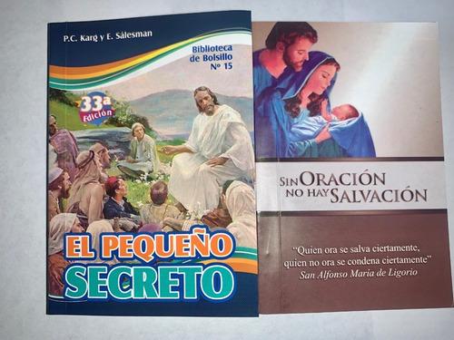 libros el pequeño secreto y sin oración no hay salvación min