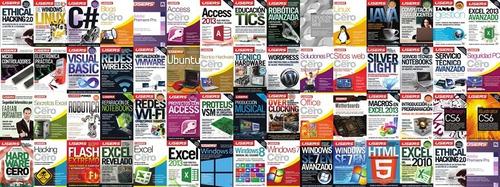libros electronicos users excel, office, sql, redes y más..