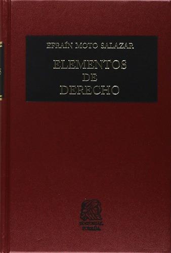 libros elementos de derecho efrain moto ¡envío gratis!