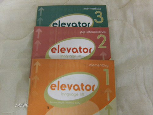 libros elevator 1,2 y 3 con cd (todos los publicados)