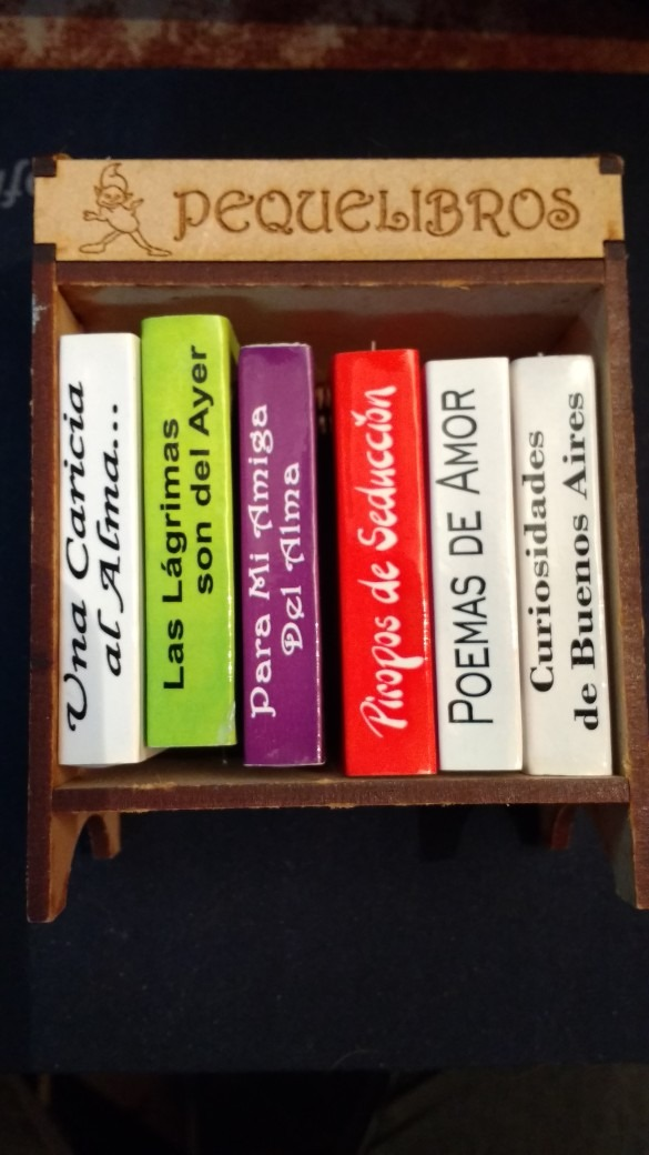 Libros En Miniatura Colección Frases Célebres Biblioteca