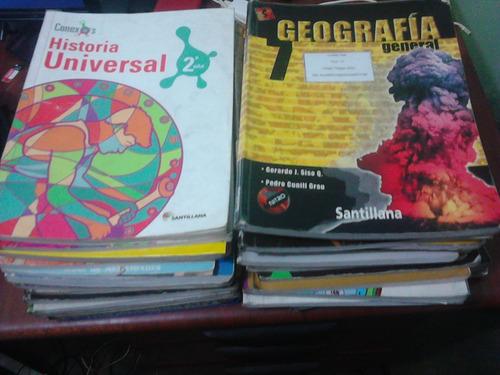 libros  escolares bachillerato usados