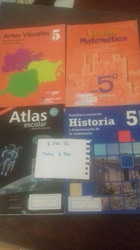 libros escolares de 4to. a 6to