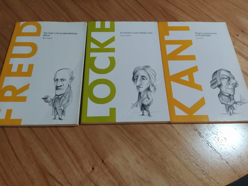 libros freud - kant - locke - marx