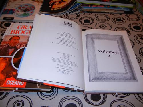 libros grandes biografias-4 tomos