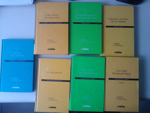 libros grandes clásicos de la literatura. serie el nacional