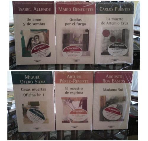libros grandes maestros de la narrativa iberoamericana