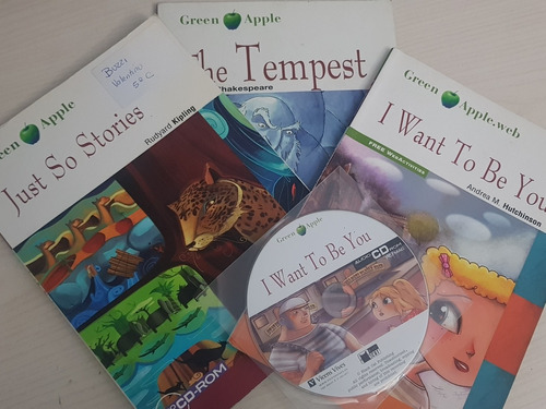 libros green apple just so stories the tempest i want to be