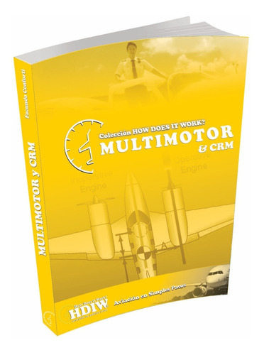 libros how does it works aviación. ingles, motores, vor, etc