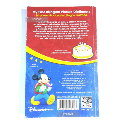 libros infantiles diccionario escolar + bilingüe didactico