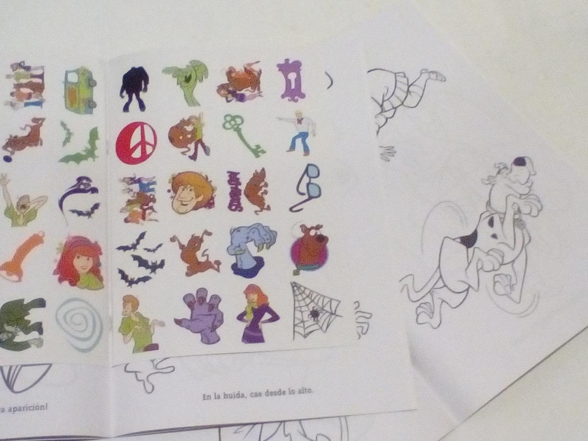 Increíble Scooby Doo Para Colorear Libros Fotos - Dibujos Para ...