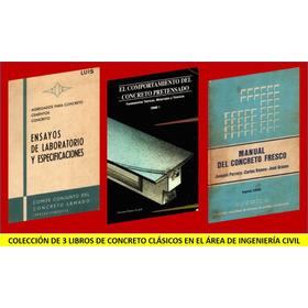 Libros Ingenieria Civil Combo 3 Vol De Concreto Clásicos