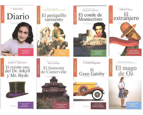 libros juveniles paquete 10 libros escolares didacticos
