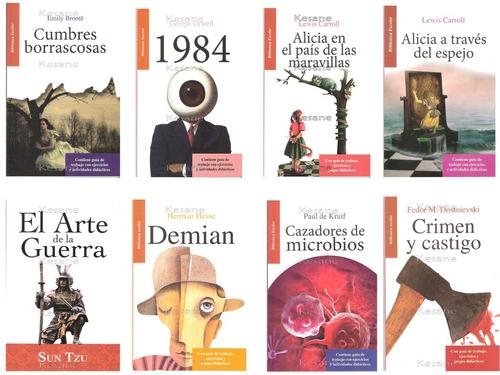 libros juveniles paquete 6 libros escolares didácticos