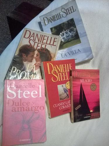 libros lote de 5 danielle steel