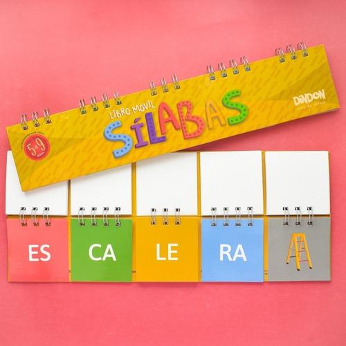 libros movile x2s: silabas de 3 y de 4 - juegos y jueguetes