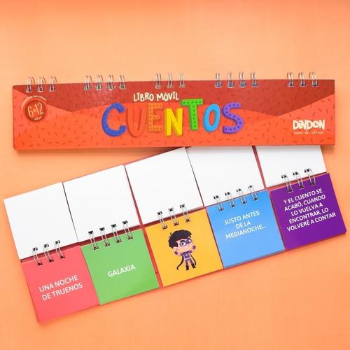 libros móviles x 4 - juguetes didácticos para niños