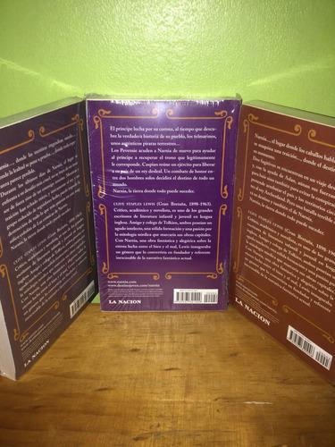 libros, narnia 2, 3 y 7 sellados, de c.s lewis, precio c/u.