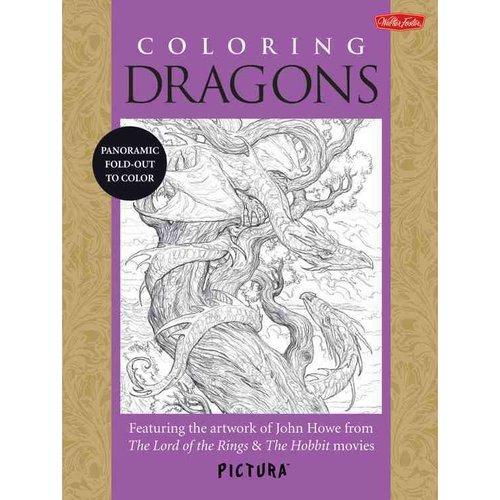 Libros Para Colorear De Dragones Para Colorear Adultos: - $ 85.550 ...