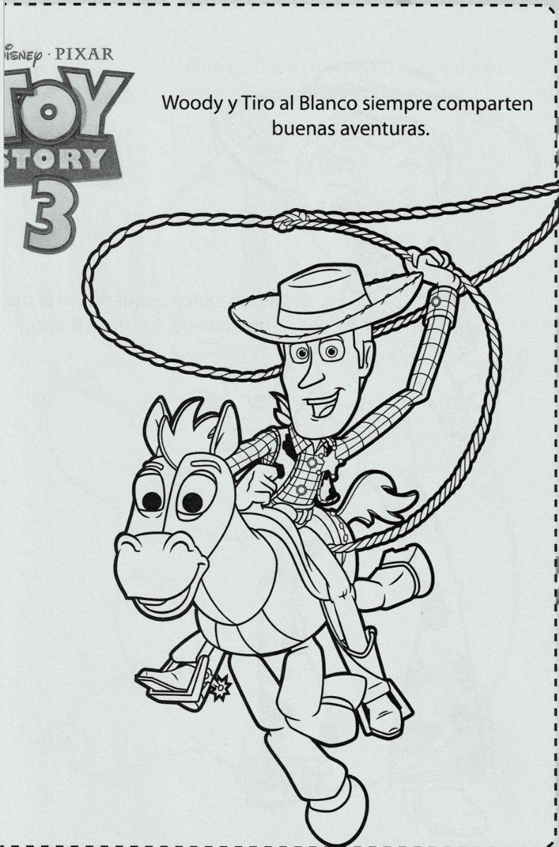Toy Story 3 Imagenes Para Colorear