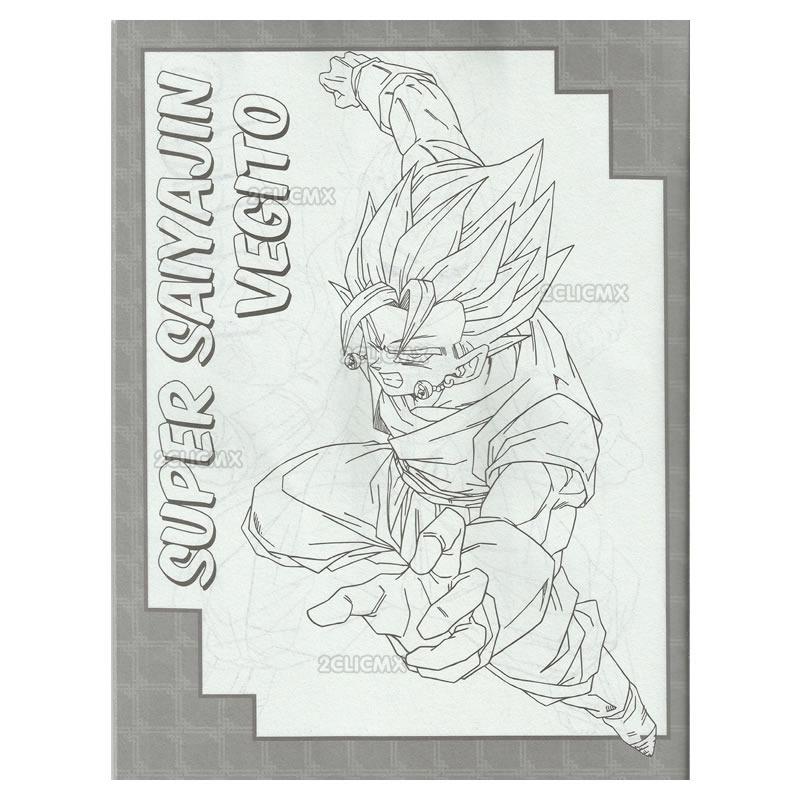 Libros Para Colorear Infantiles Dragon Ball Z Majin Buu Bolo ...