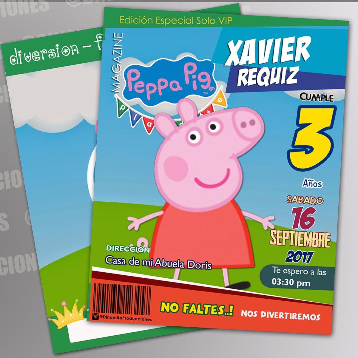 Libros Para Colorear Peppa Pig Y George Cotillon Medianos - Bs ...