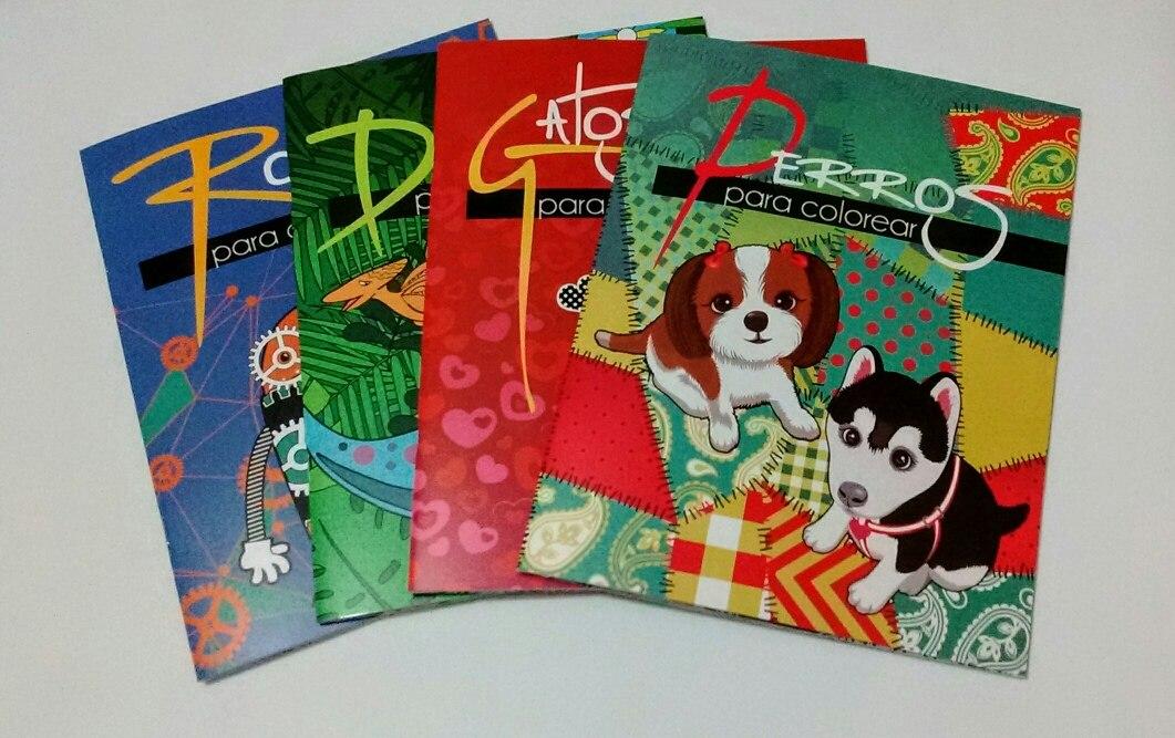Libros Para Colorear Perros, Gatos, Etc. Tipo Mandala - $ 245.00 en ...