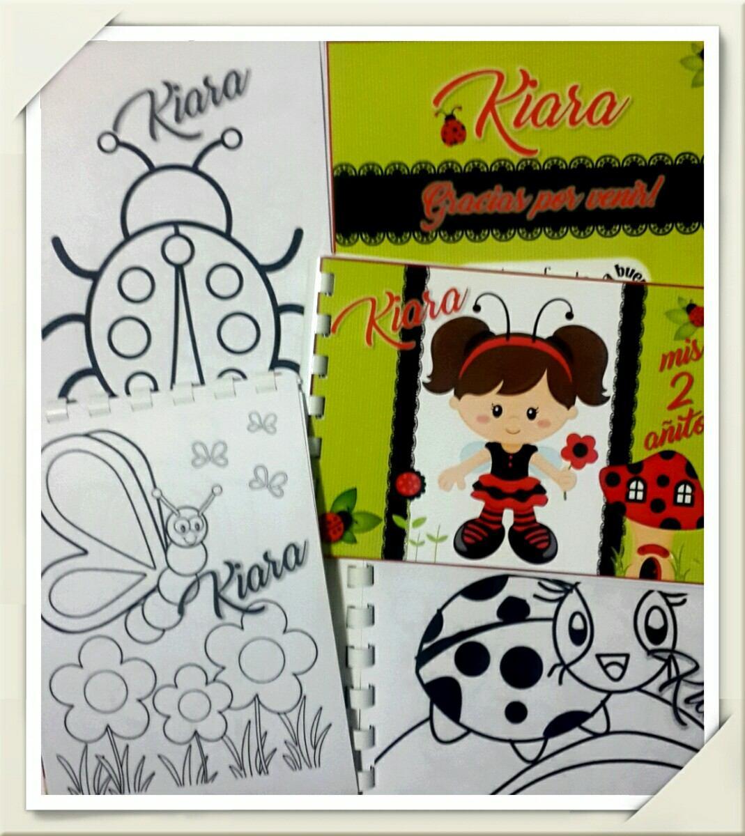 Libros Para Colorear Personalizados Regalos Souvenirs Cumple - $ 17 ...