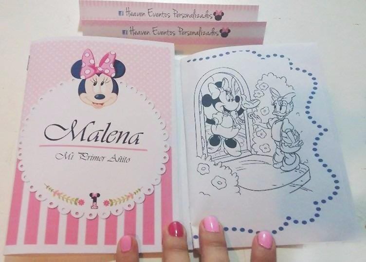 Libros Para Colorear Souvenirs Con Foto Zona Oeste - $ 10,00 en ...