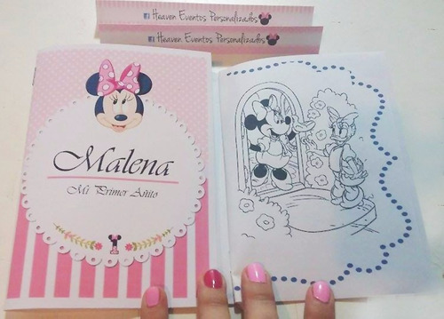 libros para colorear souvenirs con foto zona oeste