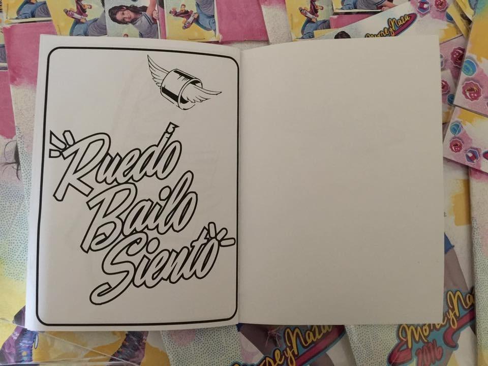 Libros Para Colorear Souvenirs Soy Luna Patin Crayones X20