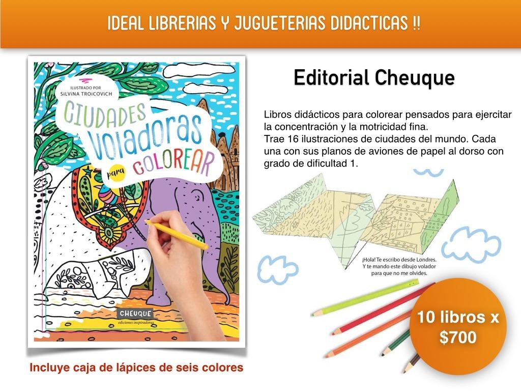 Libros Para Pintar Y Recortar, / Para Construir Aviones - $ 60,00 en ...