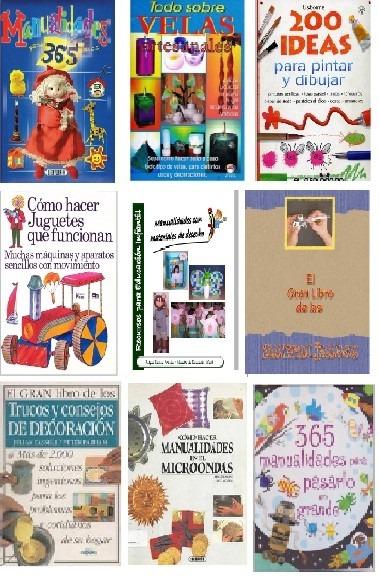 Libros pdf de manualidades decoracion pack en - Libros de decoracion ...