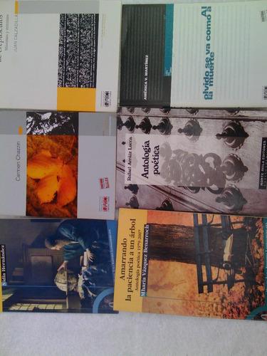 libros poemas / colección de poesía venezolana 6 por 1