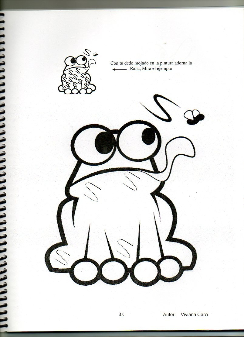 Dibujos Faciles De Ranas Interesting Que Fcil Es Pintar Con Maga