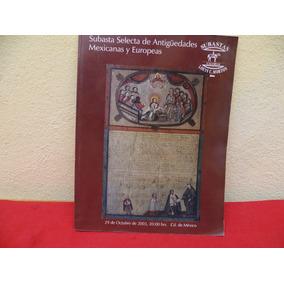 226d51e0b396 Libro Subasta Articulos Antiguos . Mexicanas Y Europeas.