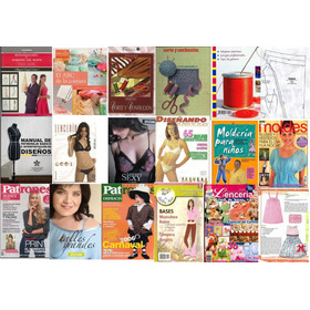 Libros, Revistas, Patrones, Carteras, Bolsos, Lenceria