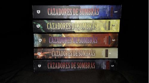 libros: saga cazadores de sombras